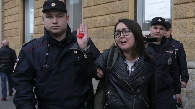 Арестован новый подозреваемый в убийстве активистки Григорьевой