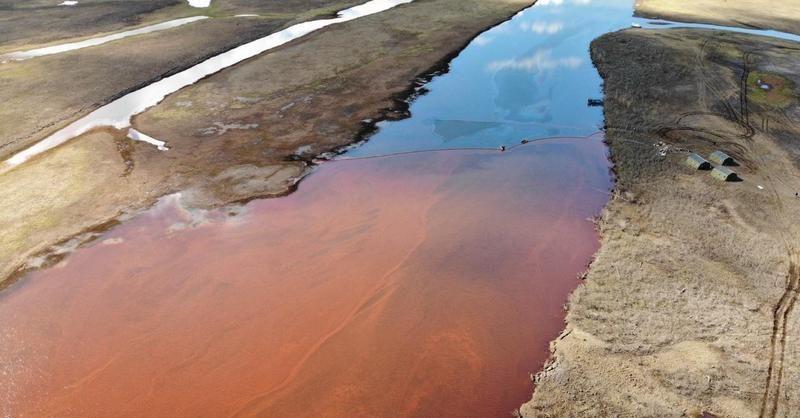 Названа причина разлива топлива на Норильской ТЭЦ