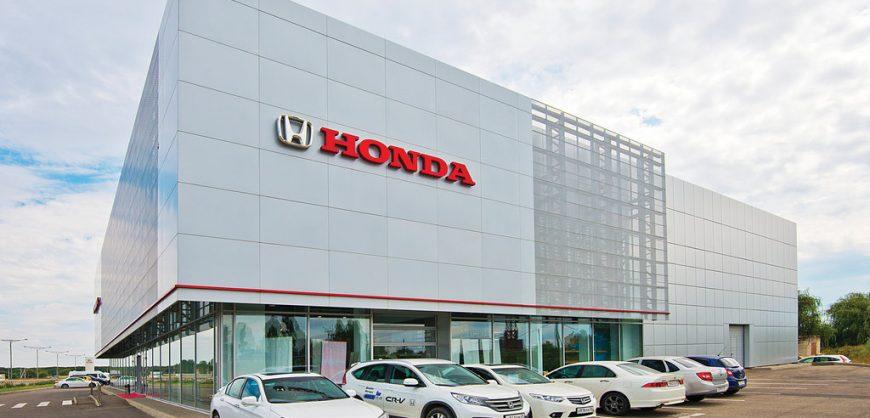 Honda прекратит поставки автомобилей в Россию в 2022 году