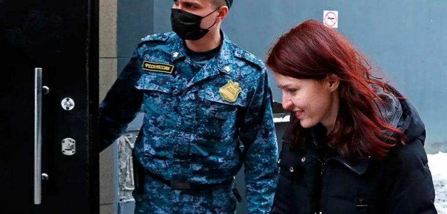 За призывы участвовать в митинге 23 января арестована пресс-секретарь Навального Кира Ярмыш