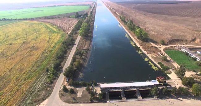Украина намерена достроить дамбу и исключить возможность подачи воды в Крым