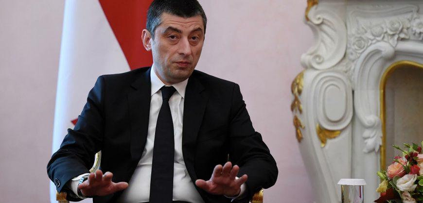 Премьер Грузии объявил об отставке на фоне разногласий из-за ареста Мелия