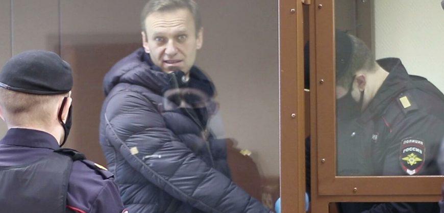 Алексея Навального этапировали из московского СИЗО в колонию