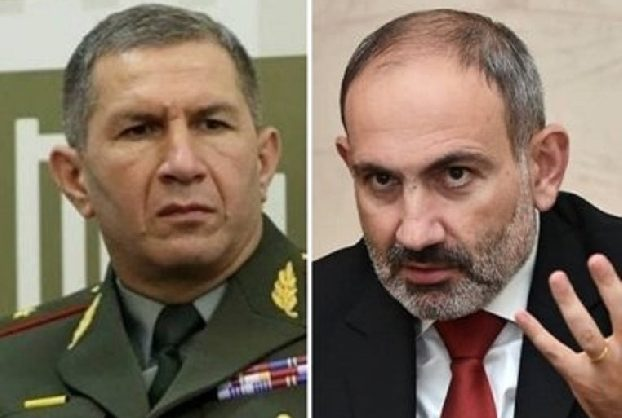 Пашинян вновь попросил президента уволить главу Генштаба Оника Гаспаряна
