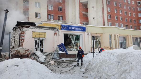 В Нижнем Новгороде произошел взрыв газа в жилом доме