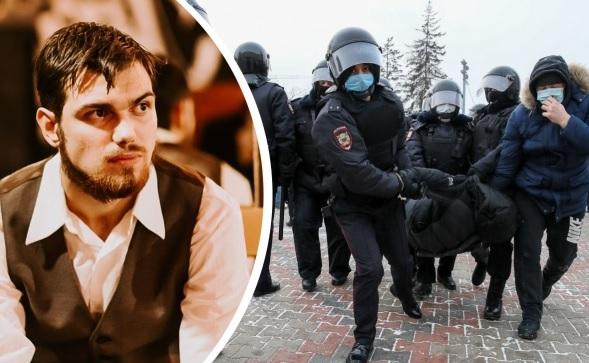 Активиста задержали после выхода из спецприемника по новому делу — о перекрытии дорог на акции протеста