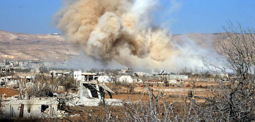 США нанесли авиаудар по объекту проиранской группировки в Сирии