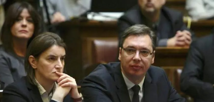 Премьер Сербии назвала незаконную прослушку президента Вучича попыткой госпереворота