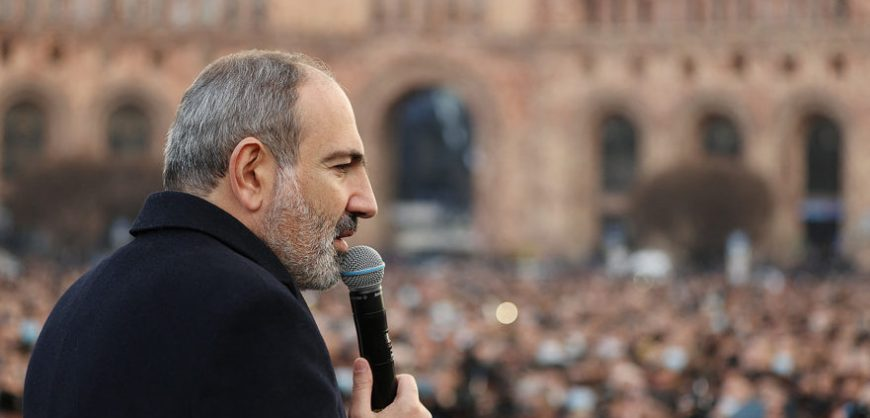Пашинян на митинге сторонников попросил прощения у армян за свои «ошибки»