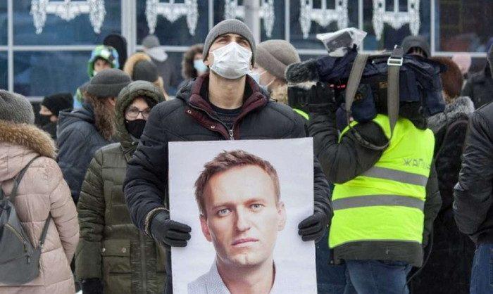 На акциях в поддержку Навального 21 апреля задержаны 1788 человек