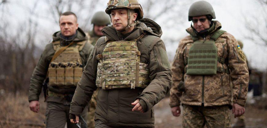 Зеленский прибыл в Донбасс как Верховный Главнокомандующий