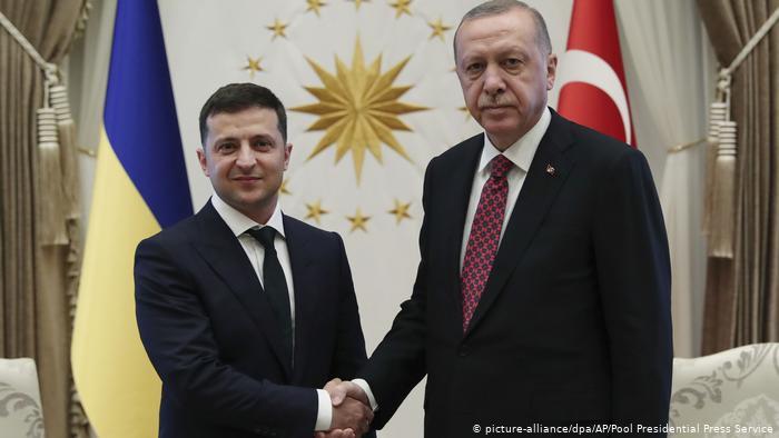 В Стамбуле началась встреча Эрдогана и Зеленского