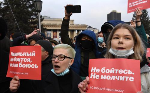 В Петербурге 150 задержанных участников митинга в поддержку Навального приговорили к арестам и штрафам