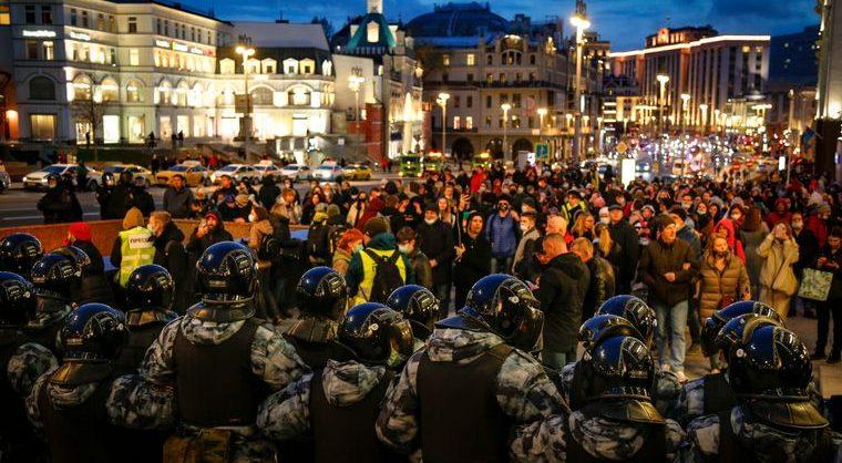 Всероссийская акция требовала свободы Навальному и России