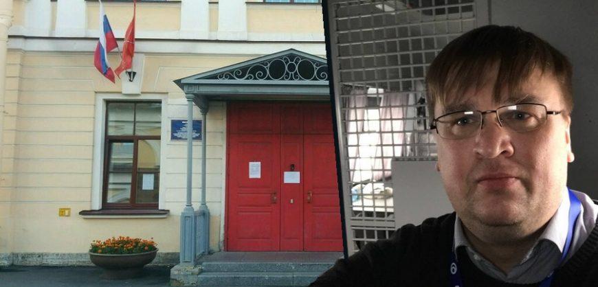 В Петербурге задержан муниципальный депутат Сергей Кузин