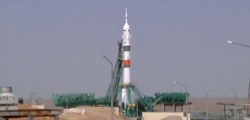 Россия запустила с Байконура ракету «Союз» с кораблем «Ю.А. Гагарин»