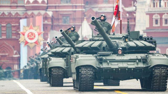 Путин на Параде Победы заявил об «агрессивных планах» «недобитых карателей»