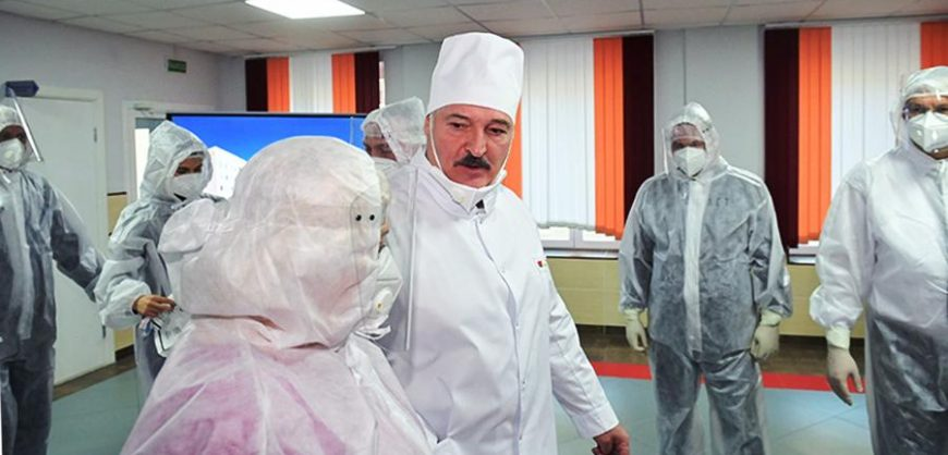 Лукашенко заявил о получении Белоруссией собственной вакцины от коронавируса