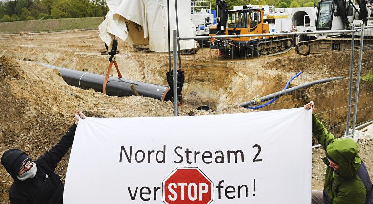 Немецкие экологи потребовали компенсации ущерба от «Северного потока – 2»