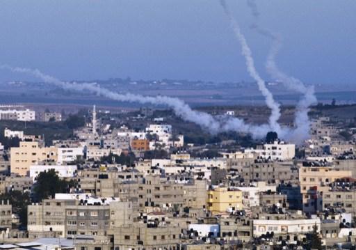 ХАМАС запустило несколько десятков ракет в направлении Тель-Авива