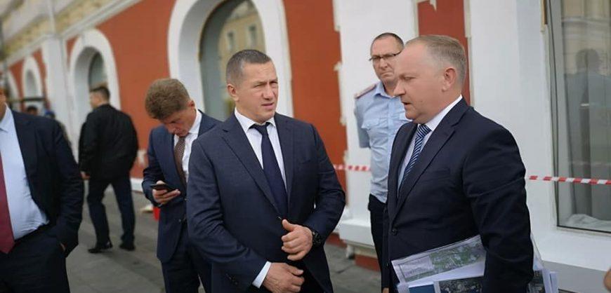 Мэр Владивостока подал в отставку после критики вице-премьера