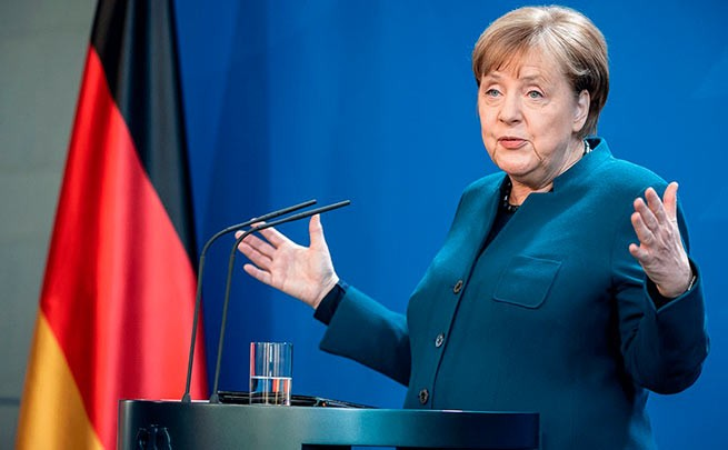 Меркель выступила за скорейшее завершение «Северного потока — 2» из-за нужды Германии в газе