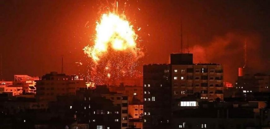ХАМАС ударила по химическому заводу на территории Израиля
