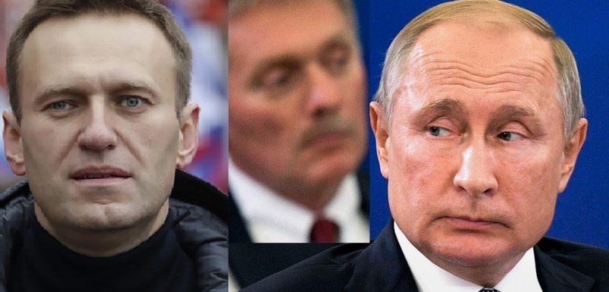 Московский суд принял к производству иск Навального к Пескову за слова о работе на ЦРУ