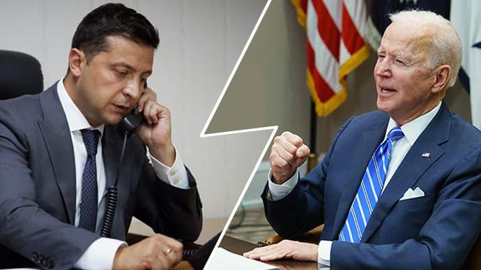 Байден и Зеленский по телефону обсудили борьбу с коррупцией и реформы на Украине