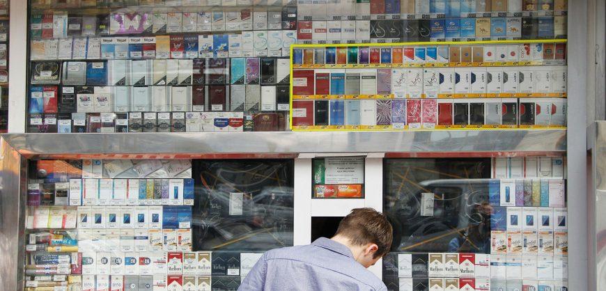 В России с 1 июля вырастут цены на табачные изделия