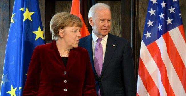 Байден и Меркель обсудили позиции по «Северному потоку – 2» перед встречей с Путиным