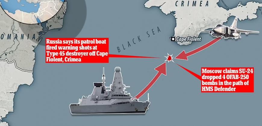 Рябков пригрозил нарушителям российских границ «бомбить не просто по курсу, но и по цели»
