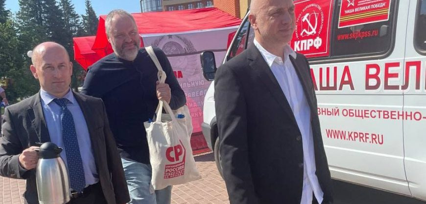 Прилепина не пустили на съезд КПРФ. Он хотел предложить коалицию левых сил