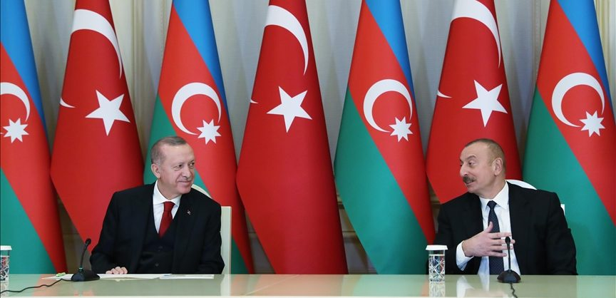 Эрдоган приехал в Карабах к Алиеву