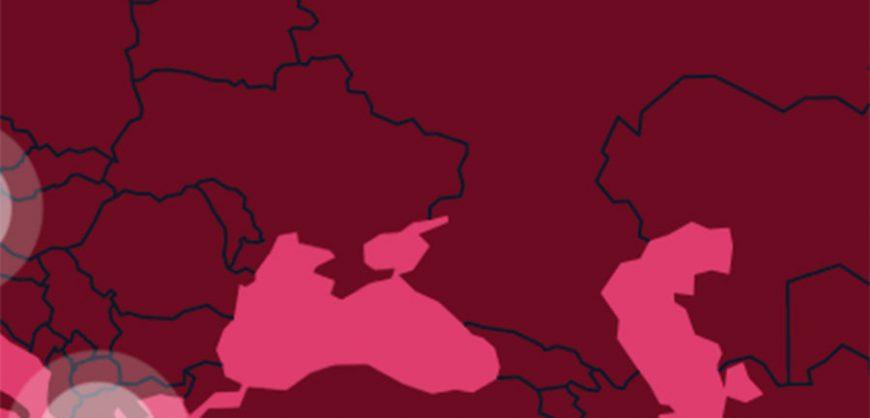 МОК извинился и исправил карту, на которой Крым был отделен от Украины границей