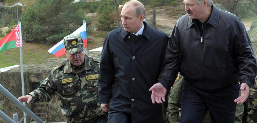 Лукашенко: если потребуется, в Белоруссию будут введены «все вооруженные силы России»