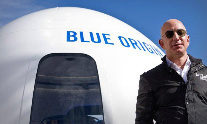 Самый богатый человек планеты слетал в космос. Акции его конкурента заметно упали