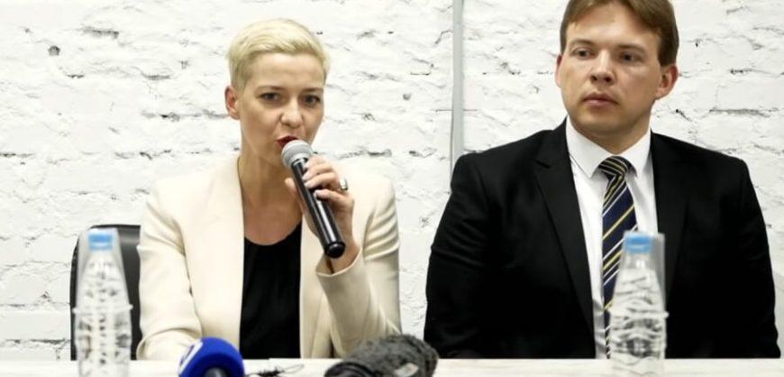 В Минске в закрытом режиме начался суд над лидером оппозиции Марией Колесниковой и юристом Максимом Знаком