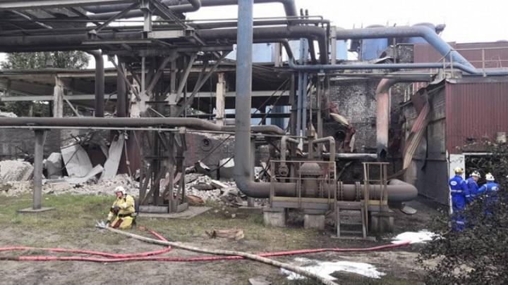 На территории НЛМК в Липецке прогремел еще один взрыв