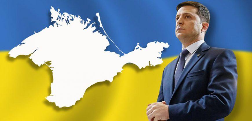 Зеленский: Крым не будет российской территорией, его возвращение Украине — лишь вопрос времени
