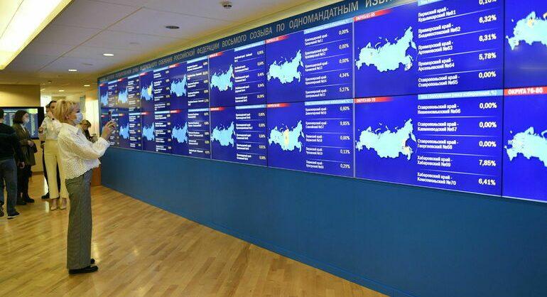 Матвиенко: электронное голосование могут ввести на президентских выборах уже по всей стране
