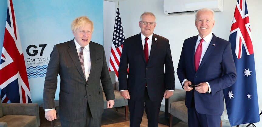 США, Британия и Австралия создали оборонный альянс AUKUS для защиты своих интересов в Индо-Тихоокеанском регионе