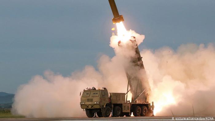 Северная Корея произвела запуск еще одной баллистической ракеты