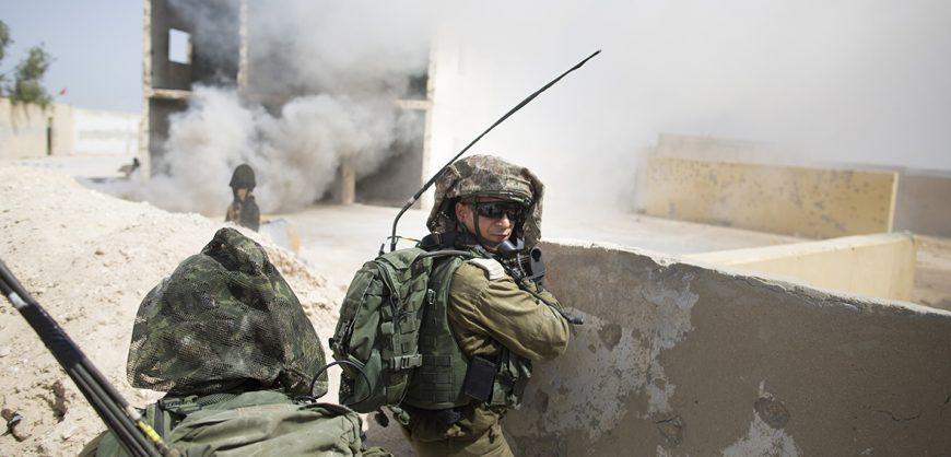 Израиль нанес ответный удар по объектам «Хамаса»