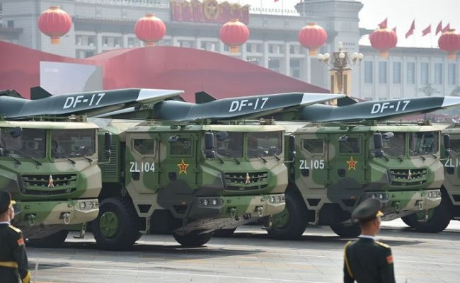 Китай отрицает, что провёл испытания новейшего гиперзвукового оружия