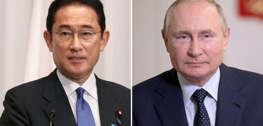 Путин обсудил мирный договор с новым премьер-министром Японии