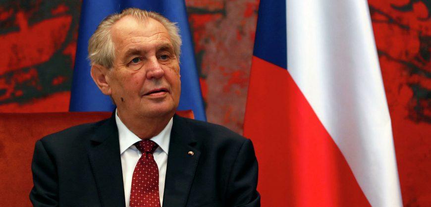 Президента Чехии Земана могут лишить полномочий по состоянию здоровья