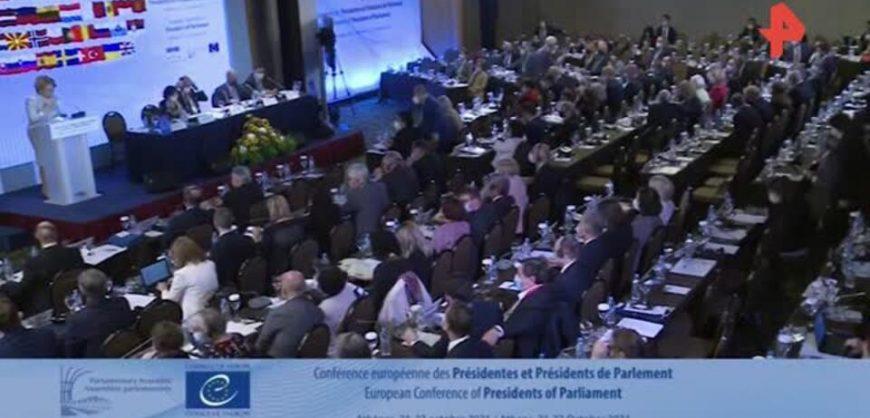 Члены делегаций стран Балтии и Польши отказались слушать речь Матвиенко на конференции в Афинах
