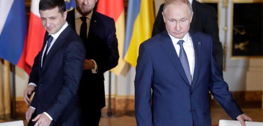 Песков заявил об отсутствии «перспектив» для встречи Путина и Зеленского