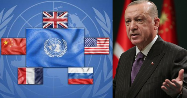 Эрдоган выступил против постоянных членов Совбеза ООН — «горстки» стран, не желающих «признать перемены»